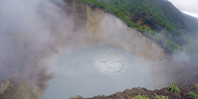 Dominica Boiling Lake