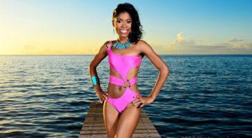 Daina Matthew - Miss Dominica Contestant 2013