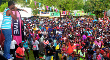 Creole in the park