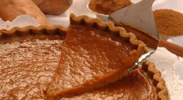 Plantain And Sweet Potato Pie