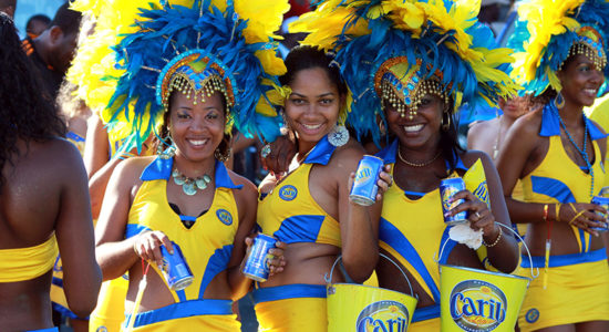 carnival season in dominica