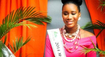 Miss Dominica 2014 Francine Baron