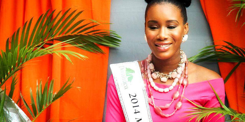 Miss Dominica 2014 Francine Baron