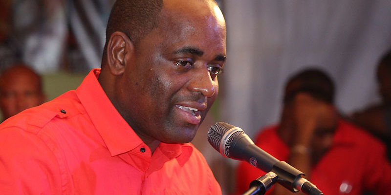 Roosevelt Skerrit Dominica Labour Party